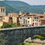Pueblo medieval de Besalú en la provincia de Girona