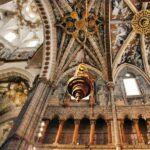 Decoración del techo de la catedral de Tarazona