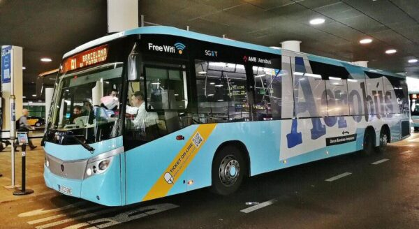 Aerobús, autobús del aeropuerto de Barcelona