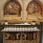 Sepulcro en la catedral de Santo Domingo de la Calzada