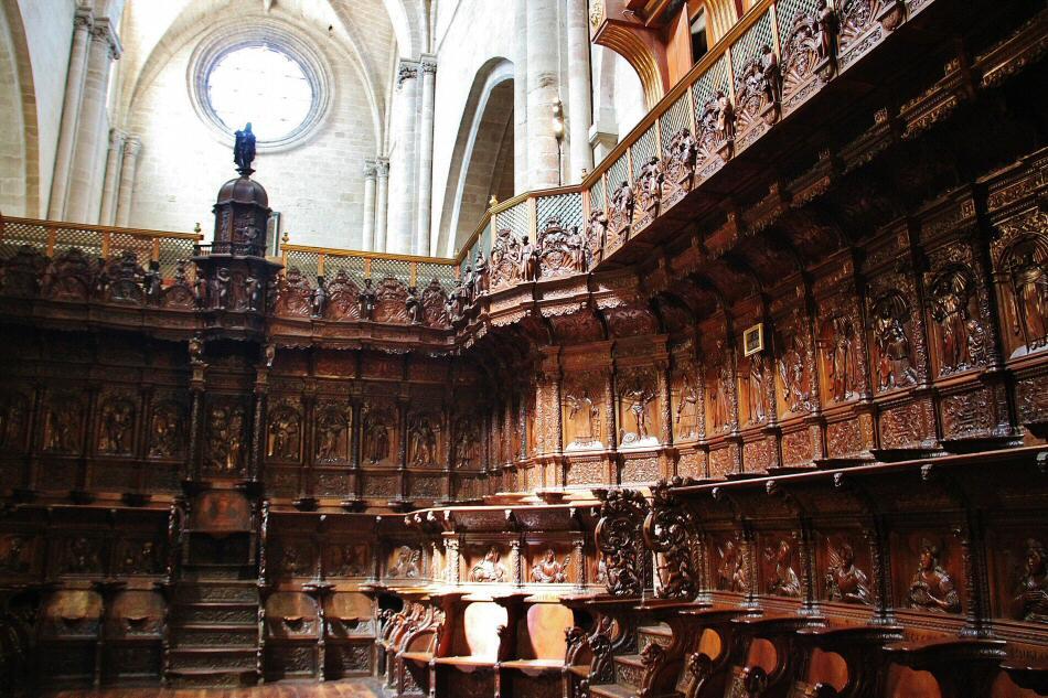 Coro de la catedral de santo domingo de la calzada gu as viajar - Casa rural santo domingo dela calzada ...