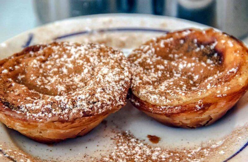 Pasteles de Belém, famoso dulce de la gastronomía portuguesa