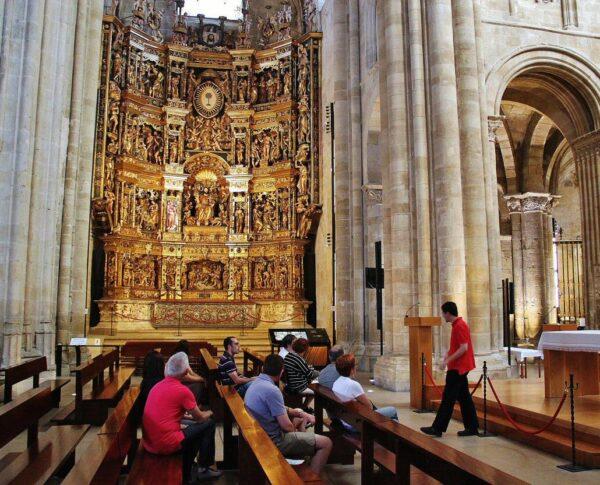 Retablo mayor de la catedral de Santo Domingo de la Calzada