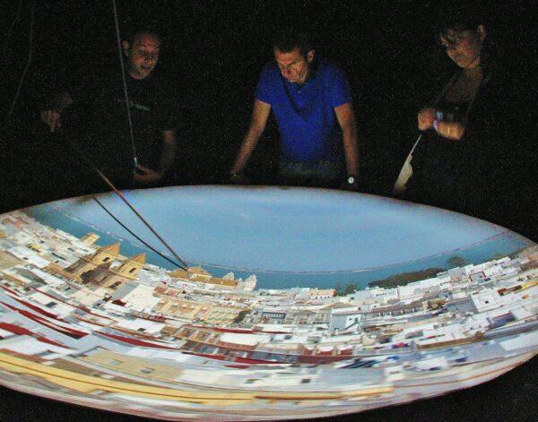 Cámara Oscura en la Torre Tavira en Cádiz
