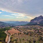 Vista panorámica desde Horta de San Juan en Terres del Ebre