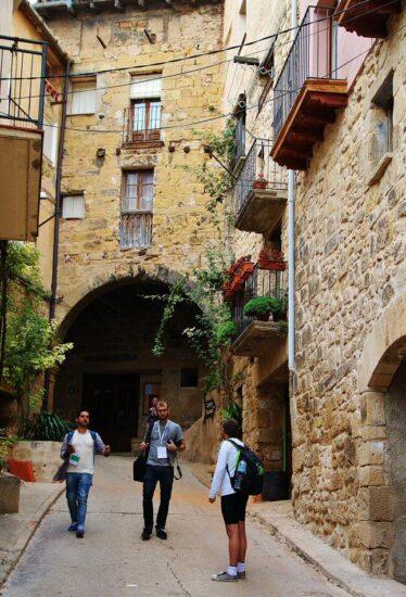Pueblo medieval de Horta de San Juan en la provincia de Tarragona