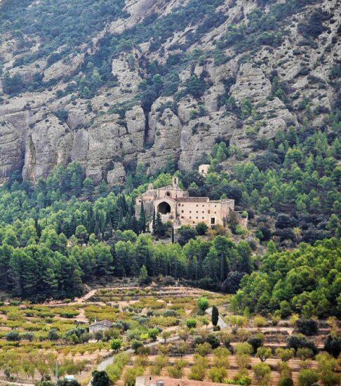 Convento de San Salvador en Horta de San Juan en Tarragona