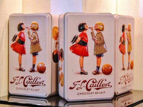 Museo de la fábrica de chocolates Cailler en Suiza