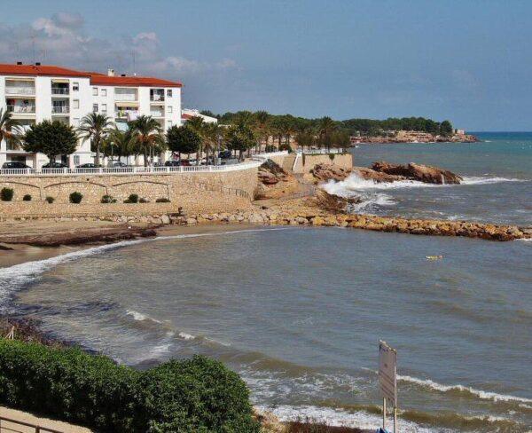 Cala en Ametlla de Mar en Terres del Ebre de Tarragona