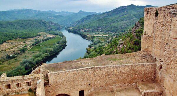 Castillo de Miravet en provincia de Tarragona