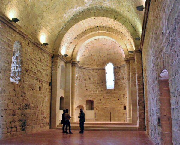 Capilla del castillo de Miravet en provincia de Tarragona