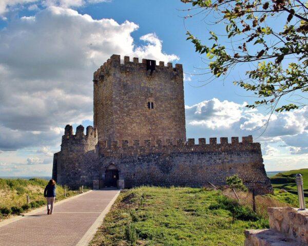 Castillo de Tiedra en Valladolid