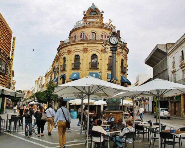 Rincón del centro de Jerez de la Frontera en Cádiz