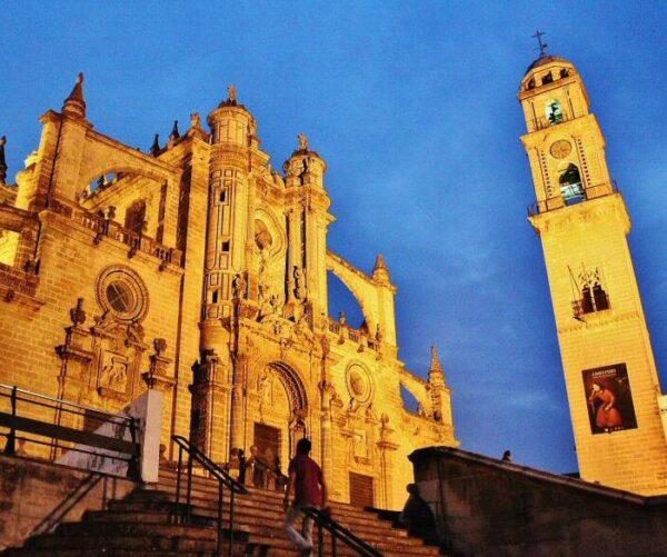 Catedral de San Salvador en Jerez de la Frontera en Cádiz