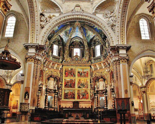 Ábside de la catedral de Valencia