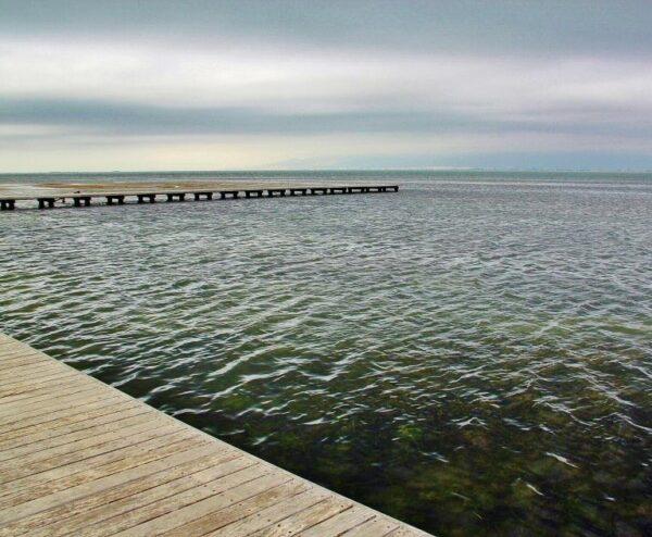Playa del Trabucador en el Delta del Ebro
