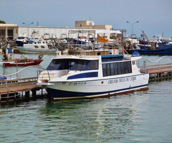 Crucero en barco por el Delta del Ebro