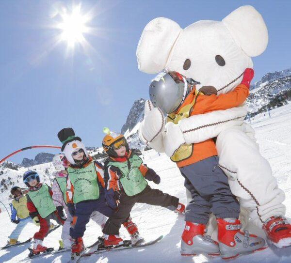 Zonas infantiles Imaginarium en Grandvalira en Andorra
