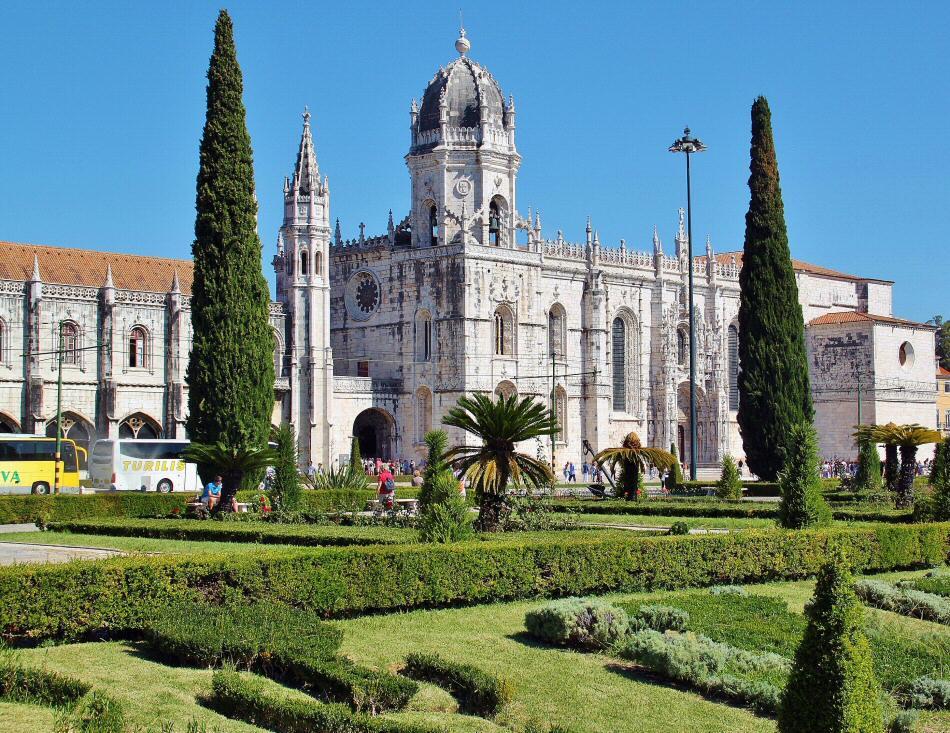 Monasterio de los Jerónimos en Belem en Lisboa