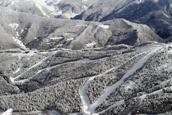 Paisajes en el sector de Pal de Vallnord en Andorra