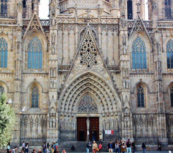 Catedral gótica de Barcelona