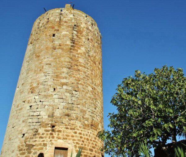 Torre del Homenaje en Pals en el Bajo Ampurdán