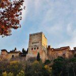 Alhambra de Granada desde el Paseo de los Tristes