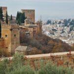Alhambra de Granada desde jardines del Generalife