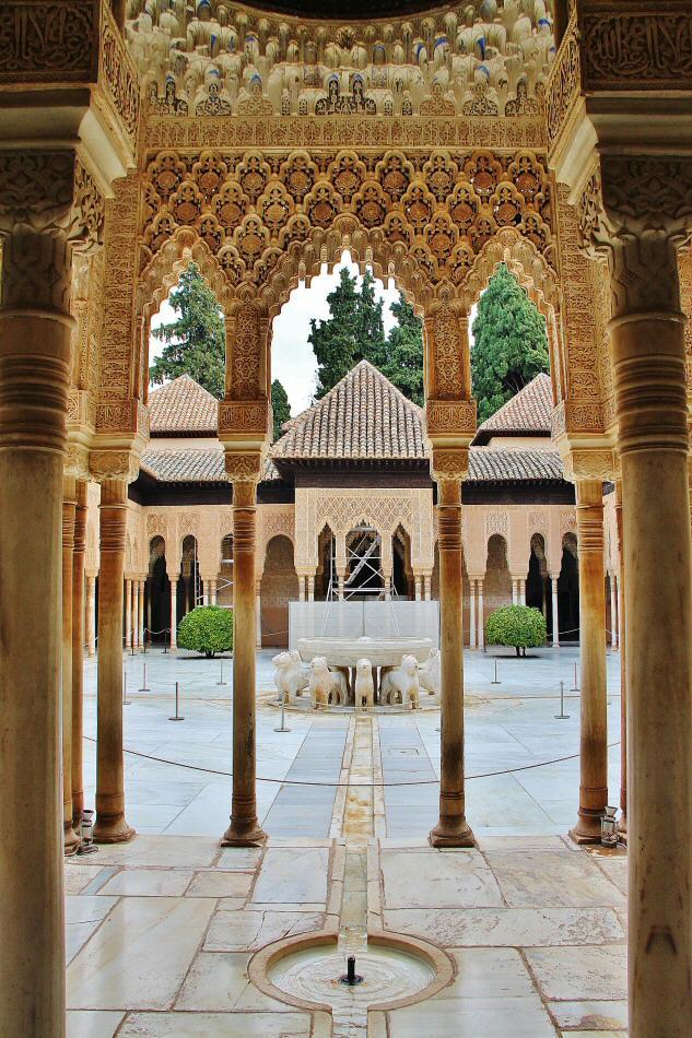 Mejores fotos alhambra granada gu as viajar for Patios de granada