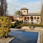 Palacio del Partal en Alhambra de Granada