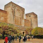 Alcazaba en la Alhambra de Granada