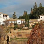 Palacio del Generalife en la Alhambra de Granada