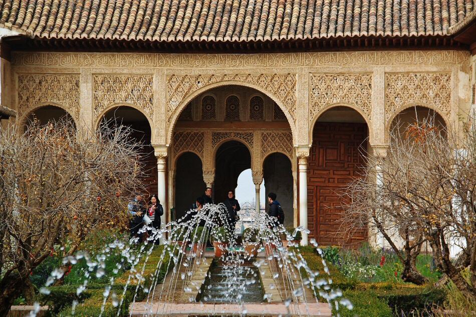 Mejores fotos alhambra granada gu as viajar for Jardines de gomerez granada