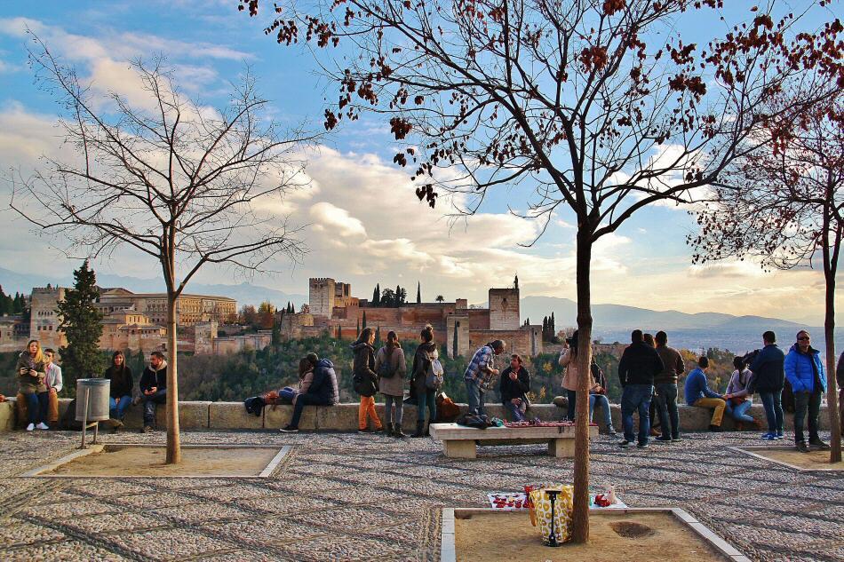 Mirador San Nicolás en Granada  Guías Viajar