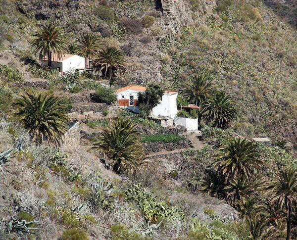 Barranco de Masca en el parque de Teno en Tenerife