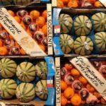 Frutas y verduras en el mercado central Rungis de París