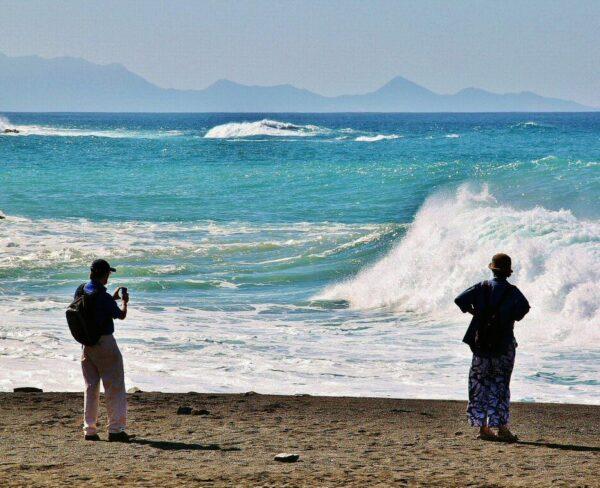 Playa Ajuy en Fuerteventura en la islas Canarias