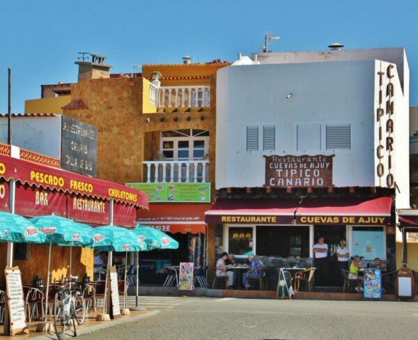 Restaurantes en playa Ajuy en Fuerteventura