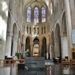 Abside de la catedral de Bruselas en Bélgica
