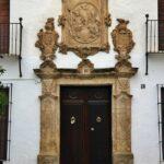 Casa palaciega en el Barrio de la Villa en Priego de Córdoba