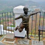 Monumento a Joselito en Priego de Córdoba en Andalucía