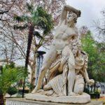 Escultura en Priego de Córdoba en Andalucía