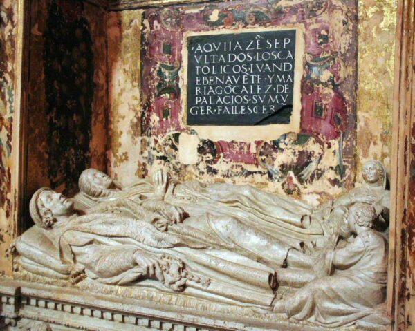 Capilla de los Benavente en iglesia de Santa María en Medina de Rioseco