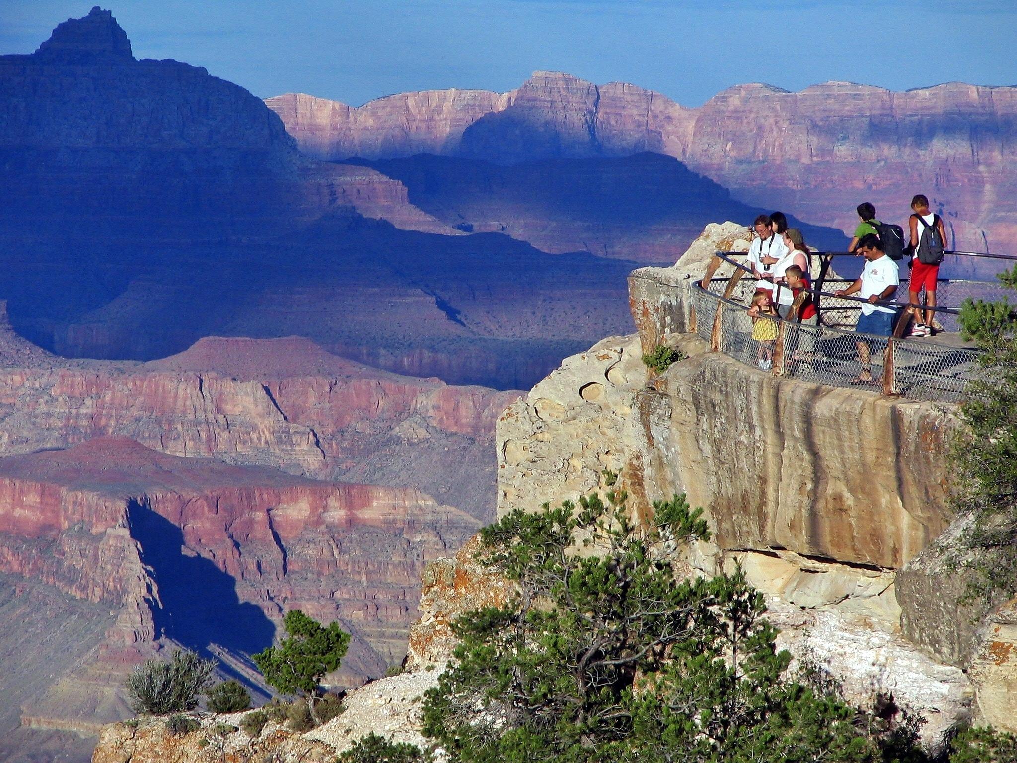 Gran Cañón del Colorado en la costa oeste de Estados Unidos