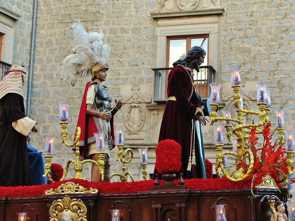 Procesión de Semana Santa en Avila