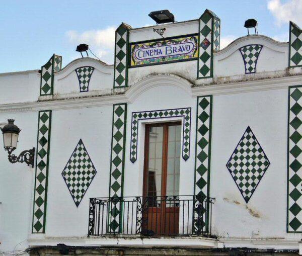 Antiguo cine en Fregenal de la Sierra en Badajoz