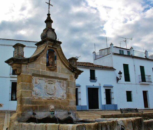 Fuente de La Fontanilla en Fregenal de la Sierra en Badajoz