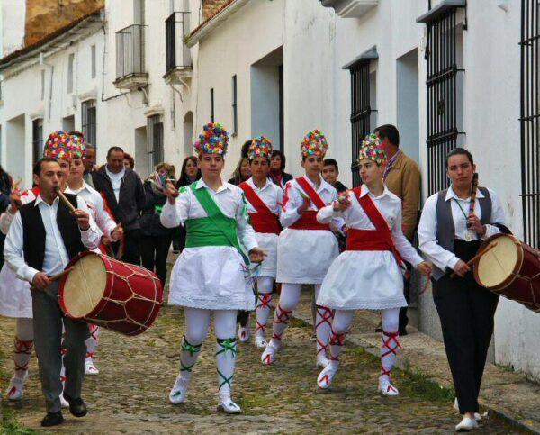 Danzaores de Fregenal de la Sierra en Badajoz