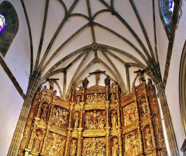 Retablo de la iglesia de Santa Ana en Fregenal en Badajoz