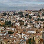 Vistas del Albaicín desde la Alcazaba de la Alhambra de Granada
